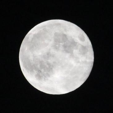 まんまる満月